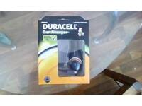 Duracell car charger. Micro usb and mini usb. Brand new unopened. Absolute bargain.