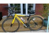 Racing bike as new