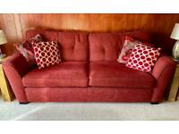 3/4 seater sofa in excellent condition.