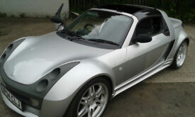 MERCEDES AUDI.BMW.FORD.SMART BRABUS ROADSTER,CONVERTIBLE,VERY COLLECTABLE AND SCARCE.