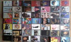 @@ 56 Music cassettes,Soul, Funk, Pop, 1980/90, Job Lot@@ Plus free Sony Walkman