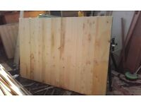 6ft x 4ft closeboard fence panels