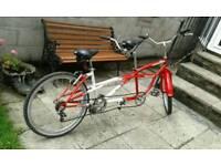 Tandem mountain Bicycle