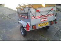 Erka trailer forsale £175.00