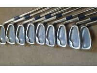 Ladies Titleist DTR iron set. 3-sw. Lady flex steel shafts and Ladies Grips. Wonderful condition.