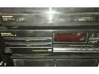 Pioneer music system.