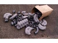"""2"""" diameter PVC pipe fittings - stock clearance"""
