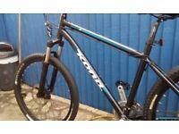 Kona hardtail mountain bike