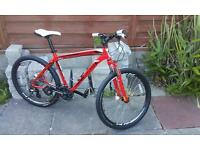 Specialized hardrock hydraulic sport disc mountain bike bicycle cycle hardtail front suspension