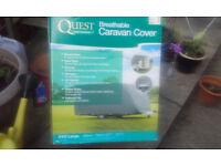 quest breathable caravan cover - 23-25ft
