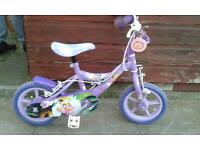 "Tinkerbell 12"" bike"
