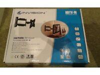 INVISION LOW PROFILE TV TILT MOUNT HDTV-M