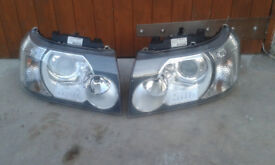 Land Rover Freelander 2 headlights