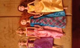 Disney dolls.
