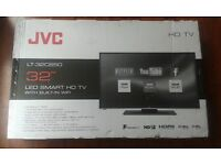 "BRAND NEW JVC LT-32C650 32"" LED HD SMART TV Freeview HD USB Record, Pause & Play HDMI"
