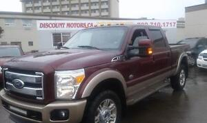 2011 FORD F350 KING RANCH  LEATHER LOADED MINT SHAPE !!!!
