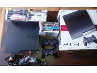 Sony Playstation 3 120GB + 20 Games