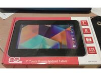 EGL = 7 inch TOUCH SCREEN ANDROID TABLET RRP £ Cpecial offer !!!