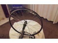 NEW exal lx17 on VGC Deore LX 7 8 9 10 speed shimano - mountain bike wheel 26 inch
