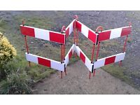 JSP 4 Gate Assembled Safety Barrier