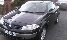 Renault Megane Black 2.0 Convertible..For Sale..!!