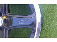 "Mk4 golf 19"" alloys"