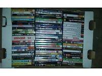 Assortment of DVDs Approx 60 Various Titles