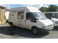 2005 05 Ford transit t350 lwb hi top
