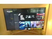 "49"" 50 inch Samsung television smart TV"