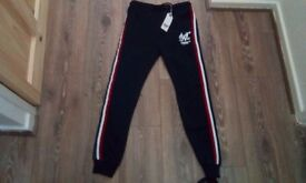 Boys sonneti joggers age 13-15 yrs new with tags