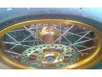 Honda Xr650 Supermoto Wheels