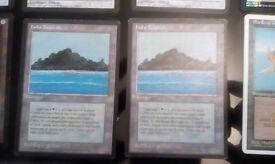 Tropical island / Mox Diamond Magic the gathering