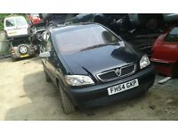 2005 Vauxhall Zafira 1.6 Life 5dr sapphire black z 20R 2hu BREAKING FOR SPARES