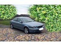 Jaguar X-Type 2003 2.1 V6 Saloon, Long MOT, Genuine Low Mileage. Lots Of Work Done.