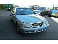 2001-Mercedes S280 auto with service history met blue