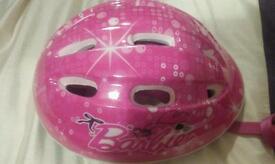 Girls Cylcle Helmet infant 50-54cm Pink Barbue