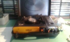 Rolson Portable Gas Stove