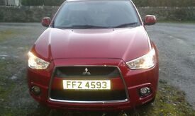 2011 Mitsubishi ASX 3 1.6 ClearTec 5dr Petrol white Manual