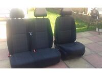 mercedes sprinter driver and passangers seats