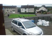 Vauxhall zafira 7 seater 09 plate 995 no offers swap for car