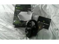Xbox 360 wireless head phones