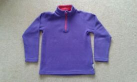 Purple jumper with zip neck. Long sleeves. Excellent condition. Suit age 8 years. £1.50