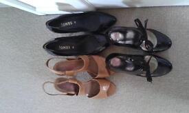 Three pairs Jones/Carvela heels for £30