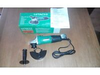 """HITACHI 41/2"""" or 115mm Angle Grinder - BRAND NEW"""