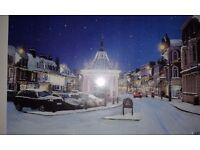 """Original artwork - """"Beverley at Christmas"""""""