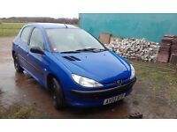 Peugeot 206 Cheap car for sale.