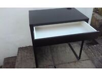 Black Work Desk
