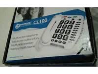 Multifunction telephone Geemarc CL100