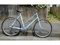 Beautiful vintage ladies bike restored