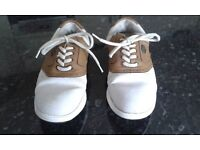 LADIES GOLF SHOES AND BAG SIZE 5